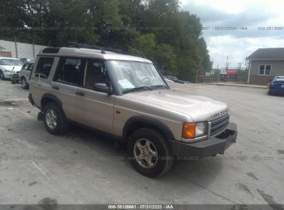 2000 LAND ROVER DISCOVERY SERIES II W/CLOTH/W/LEATHER