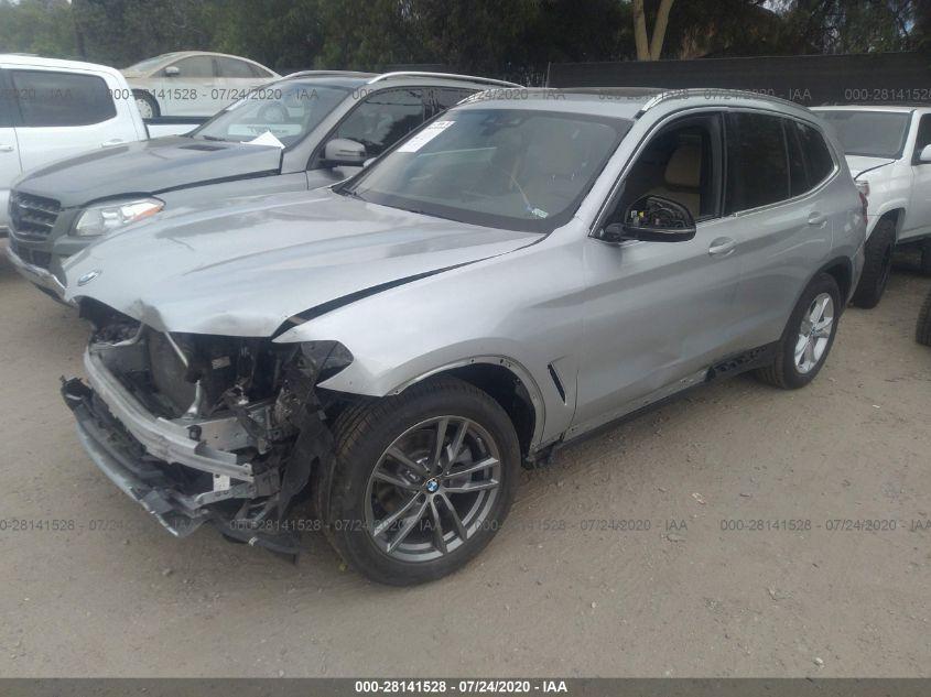 2020 BMW X3   Vin: 5UXTY3C04LLU69645