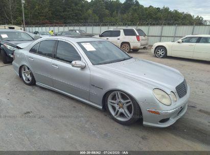 2005 MERCEDES-BENZ E-CLASS 5.5L AMG