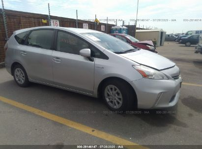 2012 TOYOTA PRIUS V TWO/THREE/FIVE