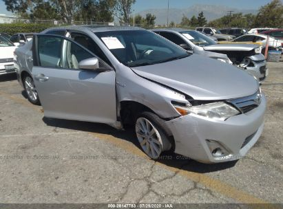 2014 TOYOTA CAMRY HYBRID LE/XLE/SE LIMITED EDITION