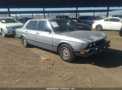 1985 BMW 535 I AUTOMATIC
