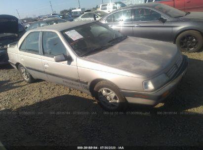 1992 PEUGEOT 405 DL