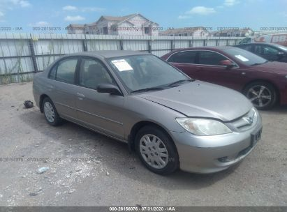 2005 HONDA CIVIC SDN LX