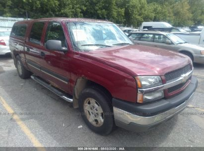 2004 CHEVROLET SILVERADO 1500 CREW CAB LT