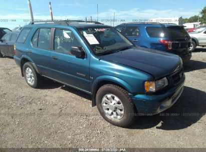 2002 HONDA PASSPORT LX/EX/EX W/LUXURY PKG
