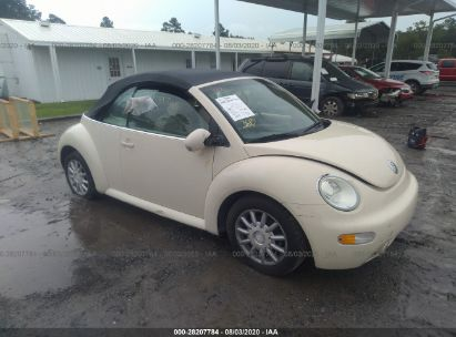 2005 VOLKSWAGEN NEW BEETLE CONVERTIBLE GLS/DARK FLINT