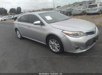 2013 TOYOTA AVALON XLE/LIMITED