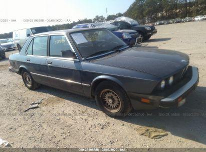 1986 BMW 528 E AUTOMATIC