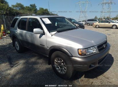 2001 HONDA PASSPORT LX/EX/EX W/LUXURY PKG