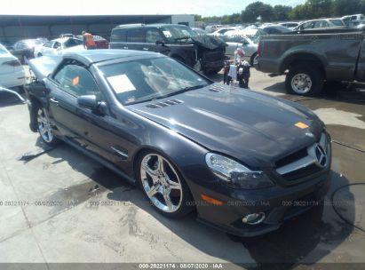 2012 MERCEDES-BENZ SL-CLASS SL 550