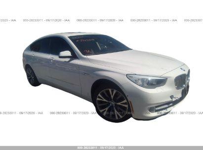 2013 BMW 5 SERIES GRAN TURISMO 550I