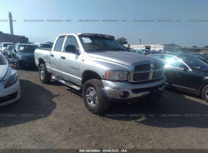 2003 DODGE RAM 2500 ST/SLT