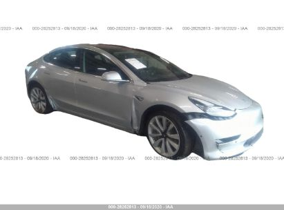 2018 TESLA MODEL 3 RANGE BATTERY