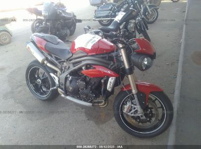 2017 TRIUMPH MOTORCYCLE SPEED TRIPLE
