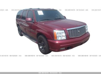 2004 cadillac escalade esv platinum edition for auction iaa iaa