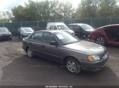 2002 hyundai accent gl for auction iaa iaa