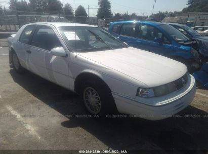 1993 mercury cougar xr7 for auction iaa iaa