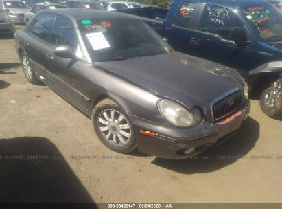 2002 hyundai sonata gls lx for auction iaa iaa