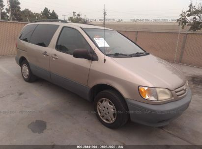 2003 toyota sienna ce for auction iaa iaa