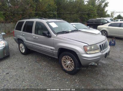 2002 jeep grand cherokee limited for auction iaa iaa