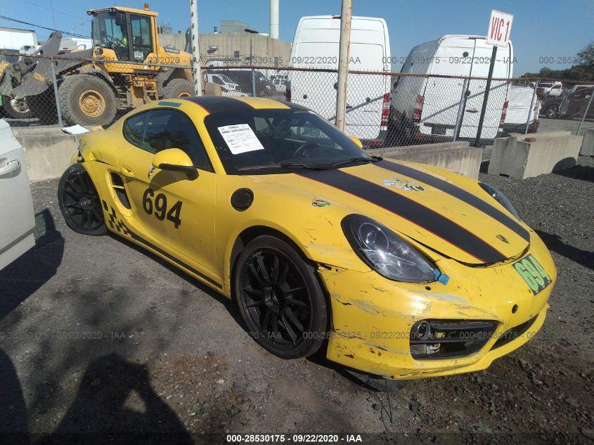2014 Porsche CAYMAN | Vin: WP0AB2A87EK191474