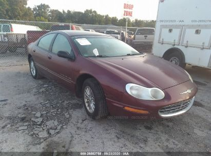2000 chrysler concorde lxi for auction iaa iaa