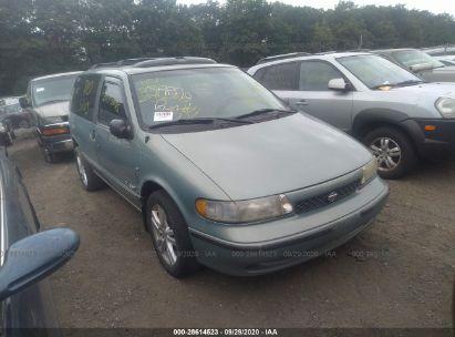 1997 nissan quest xe gxe for auction iaa iaa
