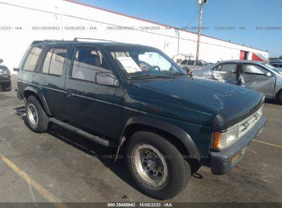 1995 nissan pathfinder le se xe for auction iaa iaa