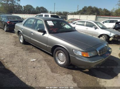 2001 mercury grand marquis ls for auction iaa iaa