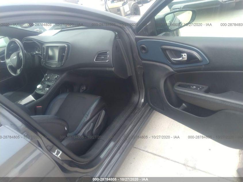 2016 Chrysler 200 | Vin: 1C3CCCBG6GN182434