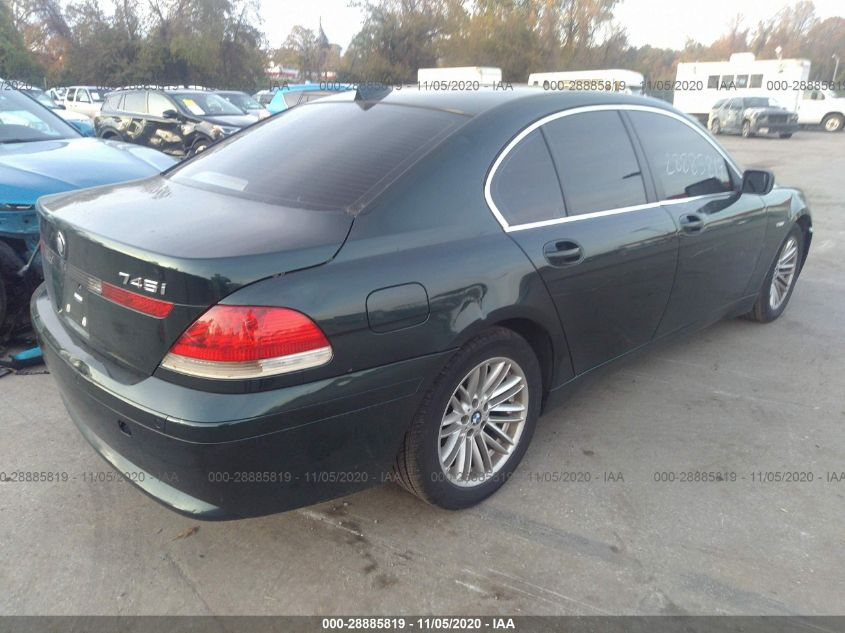 2005 BMW 7 series | Vin: WBAGL63555DP75004