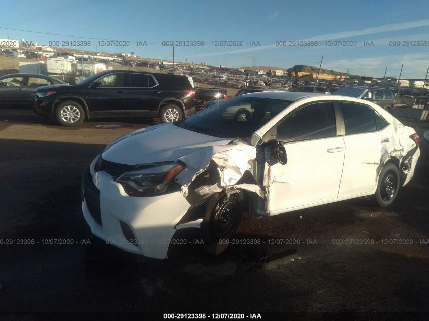 2014 Toyota COROLLA | Vin: 5YFBURHE5EP165816
