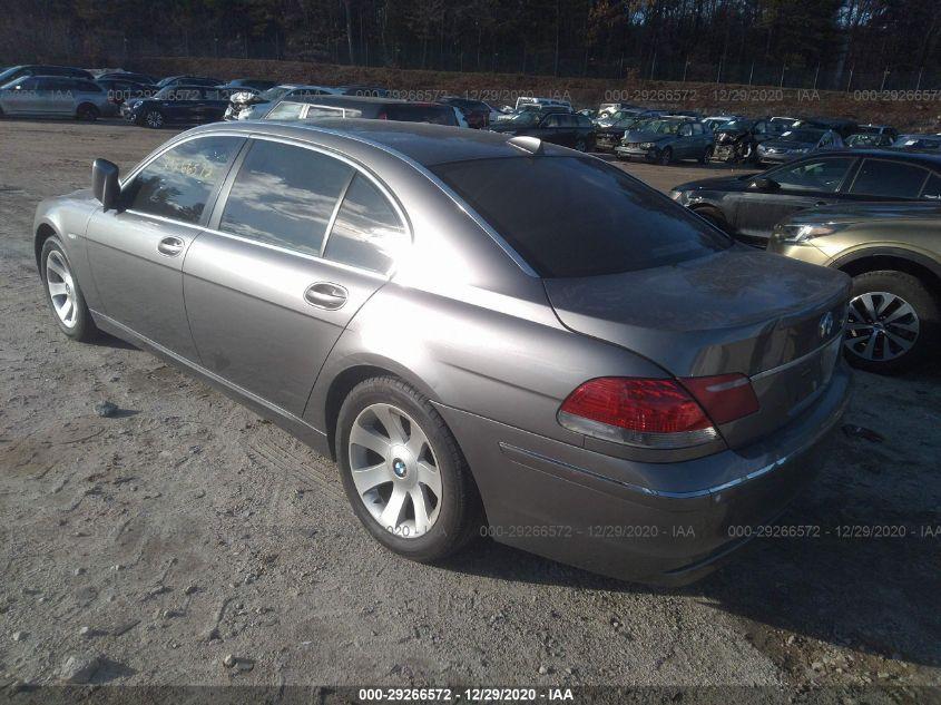 2008 BMW 7 series | Vin: WBAHN83528DT84830