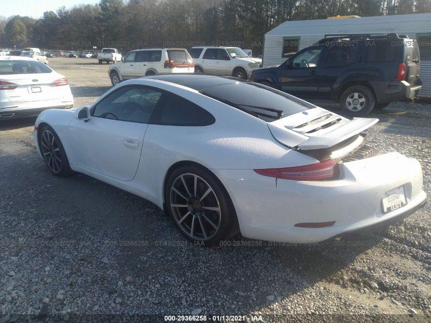 2015 Porsche 911   Vin: WP0AA2A91FS106318