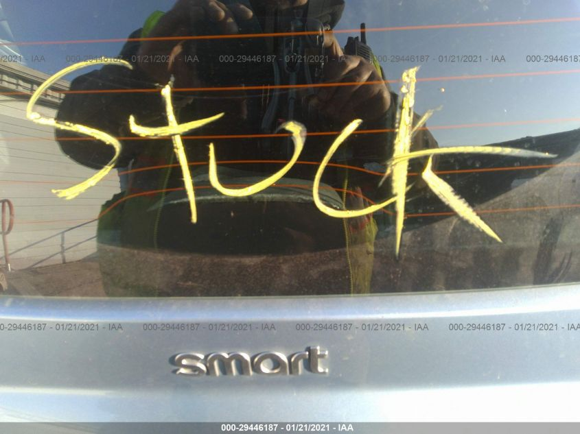 2011 Smart FORTWO | Vin: WMEEJ3BA0BK446071
