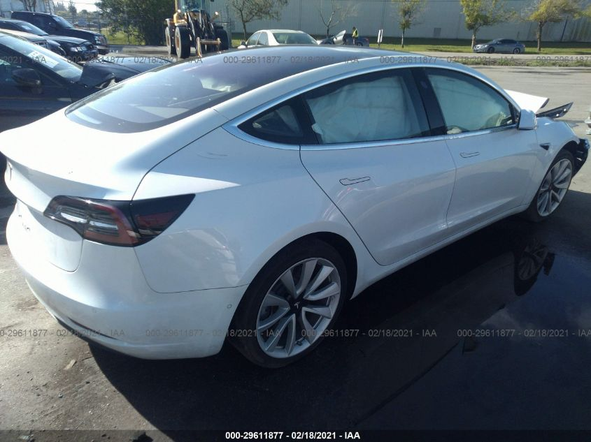 2018 Tesla MODEL 3 | Vin: 5YJ3E1EA1JF018516