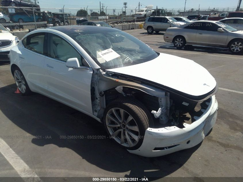 2019 Tesla MODEL 3 | Vin: 5YJ3E1EA2KF302612
