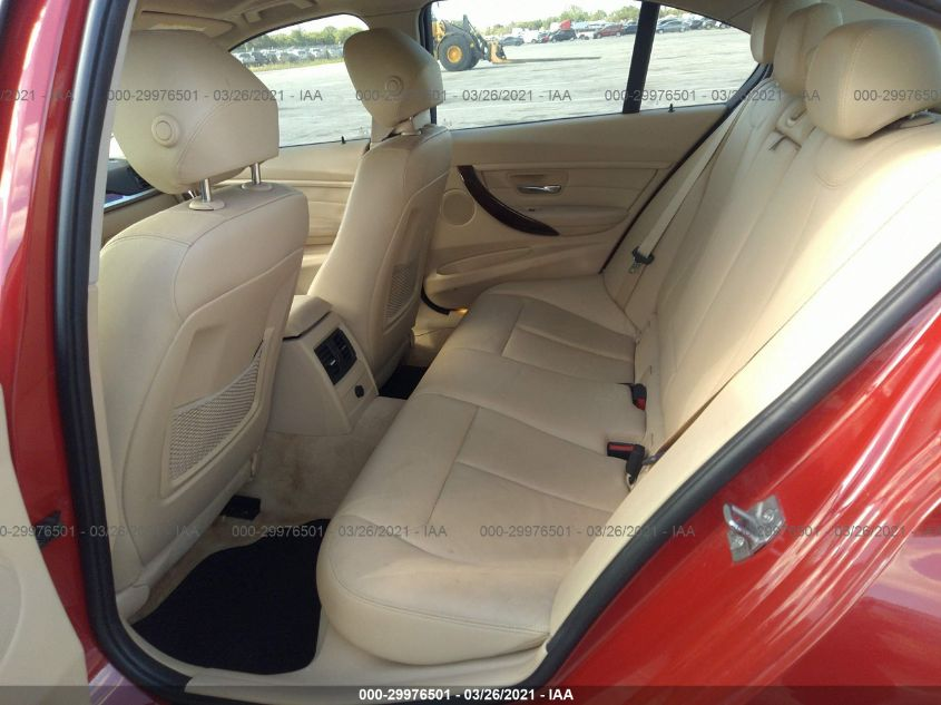 2013 BMW 3 series   Vin: WBA3A5G51DNP22401