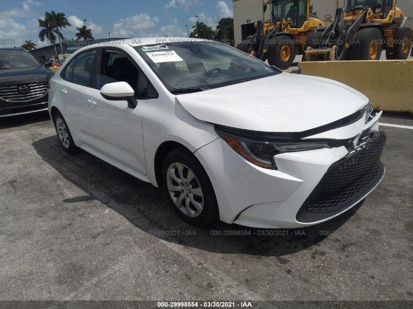 2020 Toyota COROLLA   Vin: 5YFEPRAE4LP036736