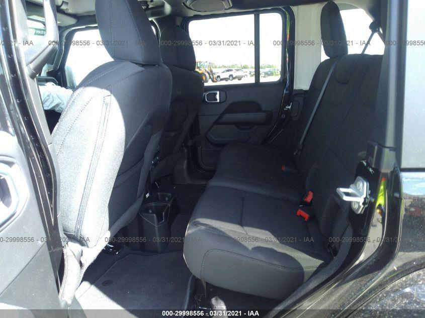 2021 Jeep WRANGLER | Vin: 1C4HJXEN7MW621963