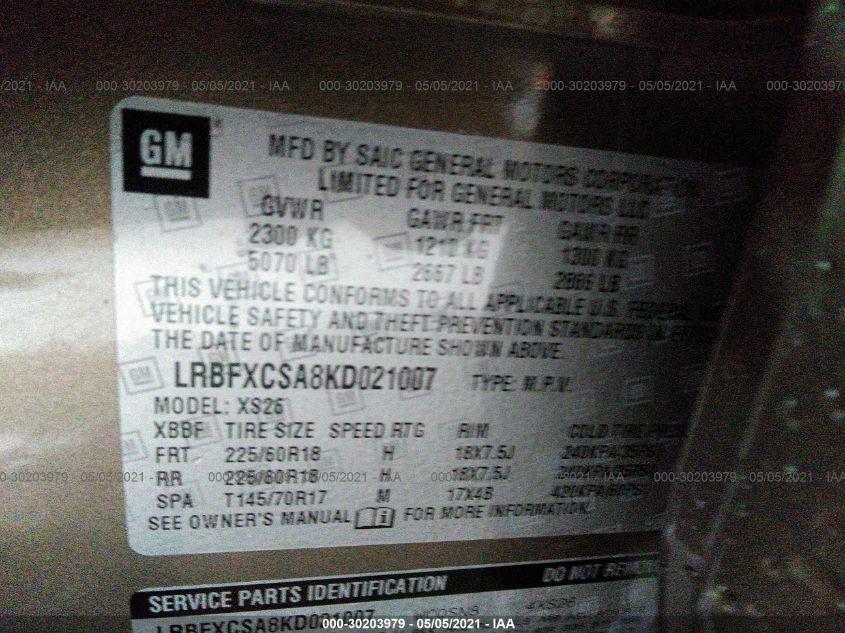 LRBFXCSA8KD021007