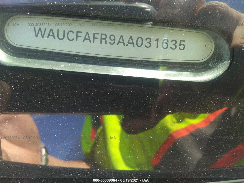 WAUCFAFR9AA031635