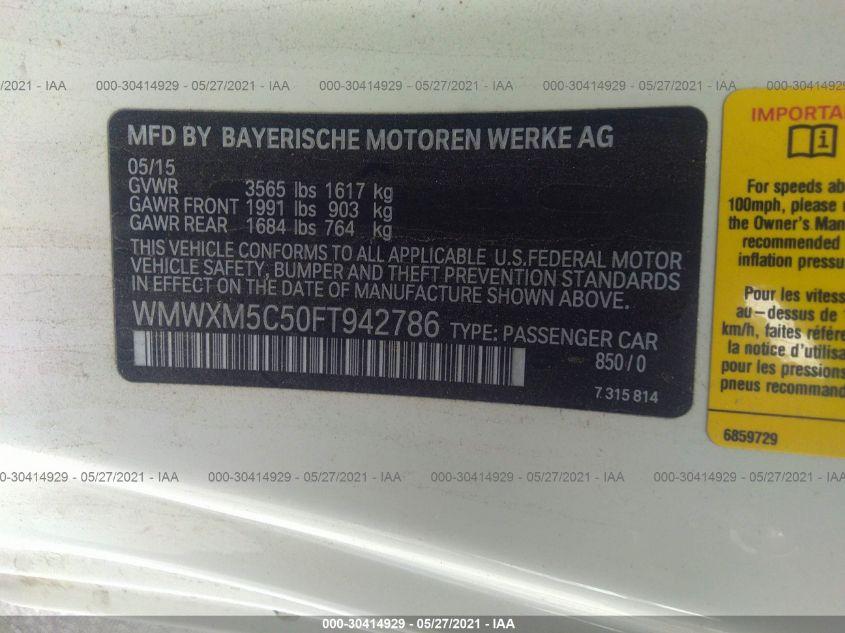 WMWXM5C50FT942786