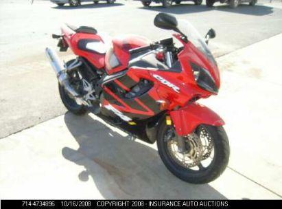 2001 HONDA CBR600F4