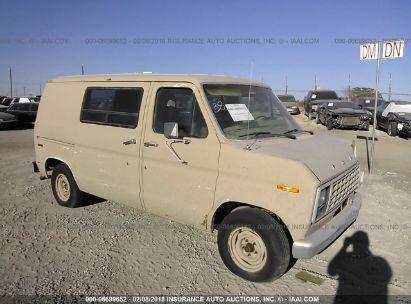 1982 FORD ECONOLINE VAN E100 VAN