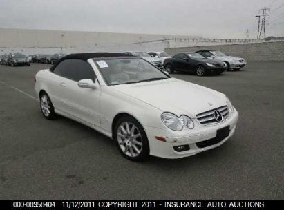 2007 MERCEDES-BENZ CLK350 350