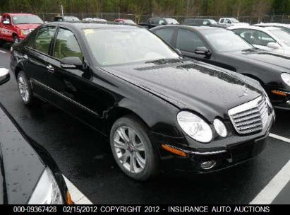 2009 MERCEDES-BENZ E350 4M AWD