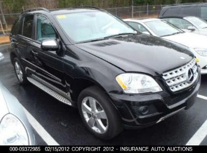 2009 MERCEDES-BENZ ML350 350