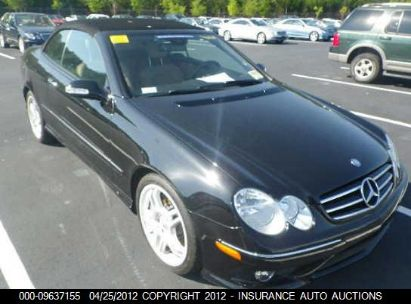 2008 MERCEDES-BENZ CLK550 550